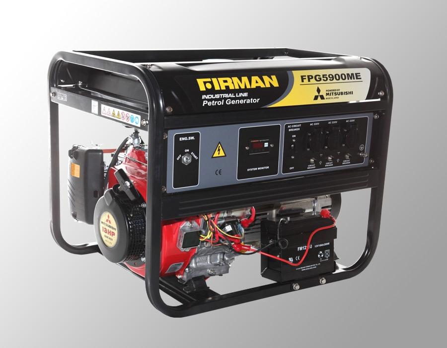 Бензиновый генератор Firman FPG5900MЕ