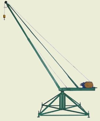 Кран стреловой поворотный КСП-320 Мастер, г/п 320 кг