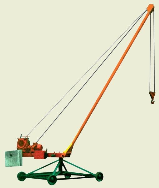 Кран Пионер, г/п 500, 750, 1000 кг