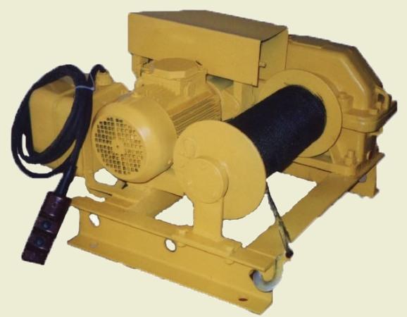 Лебедки электрические ТЛ-16А, ТЛ-16М, ТЛ-16Т