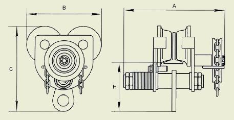 Механизм передвижения тали R-Tech